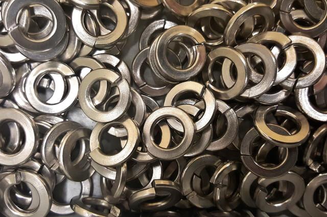 arandelas planas metal